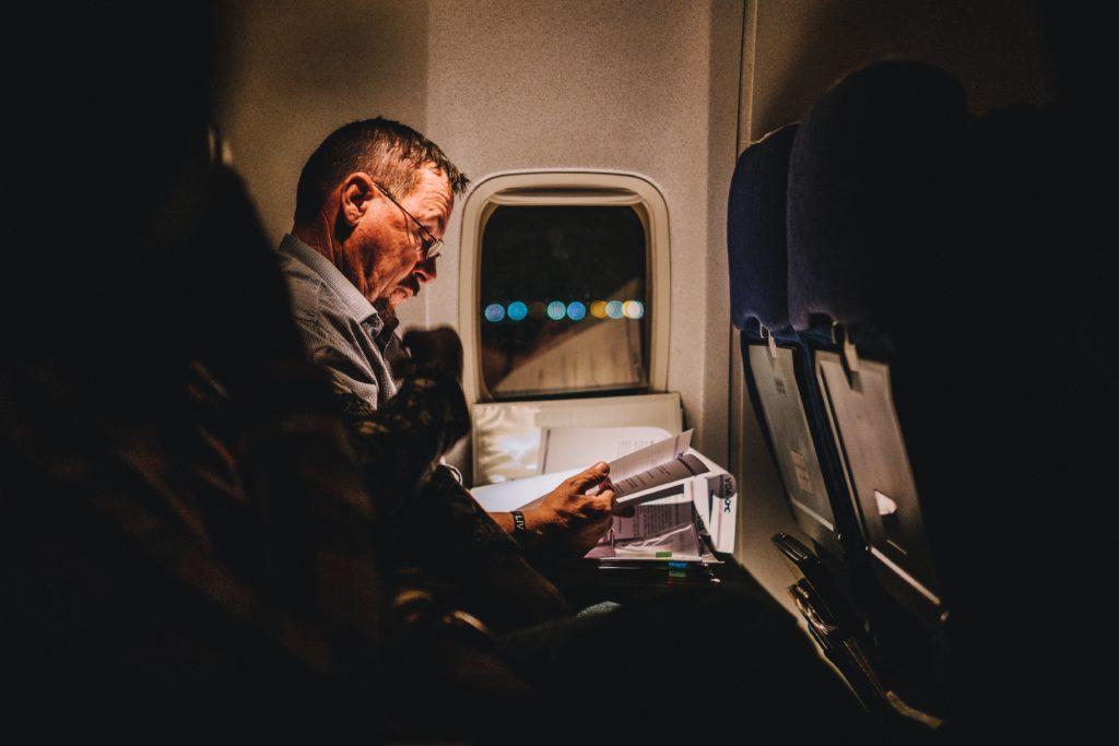 long haul flight reading