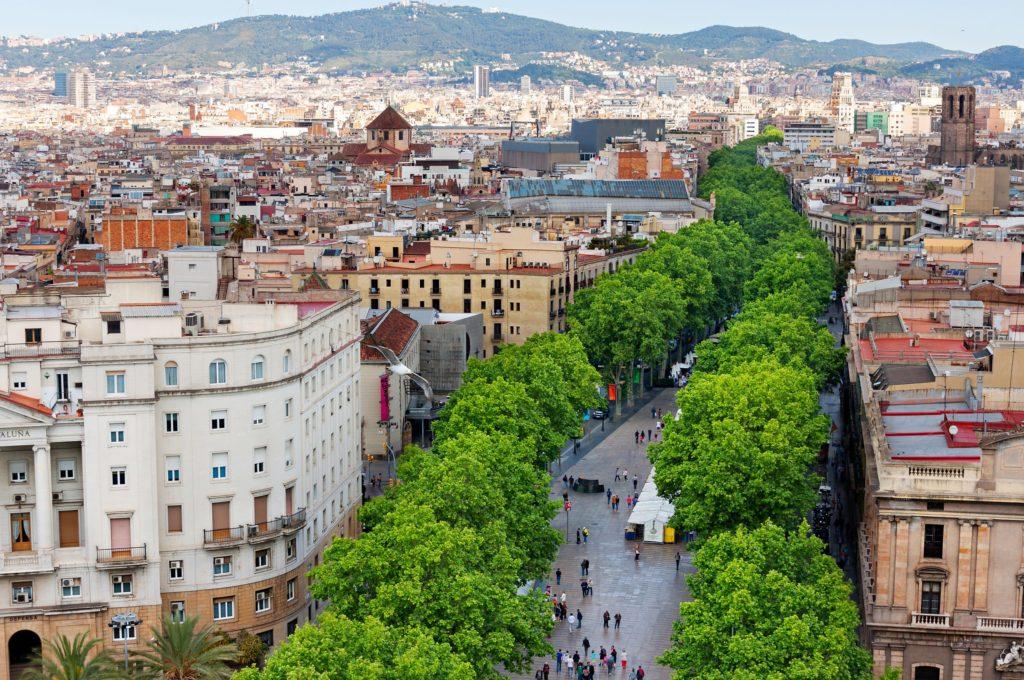 compras tax-free en barcelona la rambla tiendas