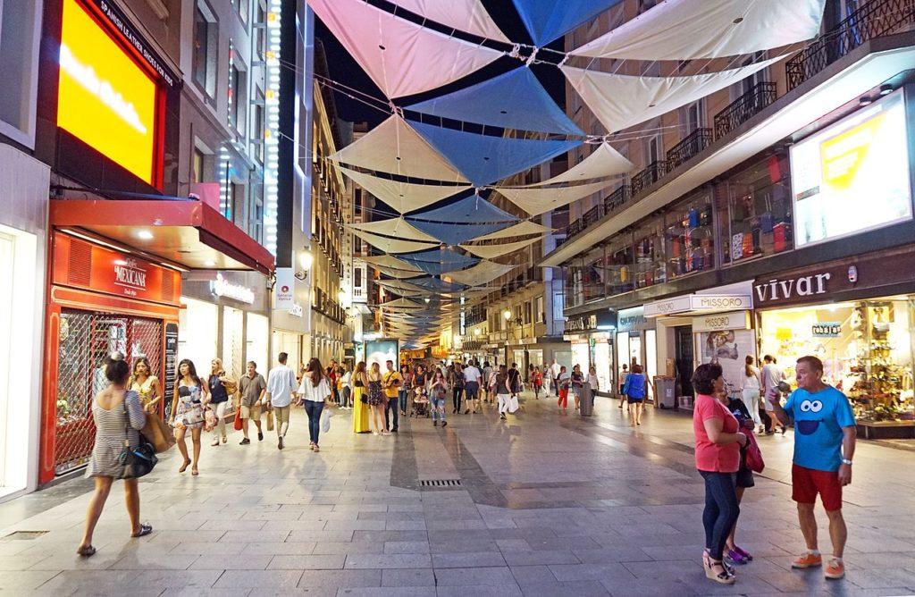 compras tax-free en madrid calle preciados